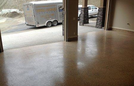 custom garage flooring